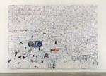 Mark Bradford, White Painting (2007)